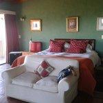 un dormitorio super especial!!! una vista unica!!!
