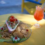 Ceviche and Rum Punch