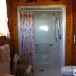 Otter Bathroom - wheel in shower