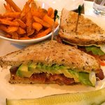 Bacon, Tomato, and Avocado Grilled Cheese