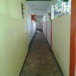 corredor de entrada