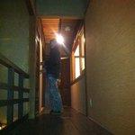 Walkway on the 2nd floor