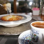 Kunefe & Turkish coffee