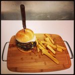 Ron Swanson Burger