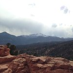 view from the Garden of the Gods