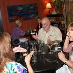 A fundraising wine dinner enjoyed by all