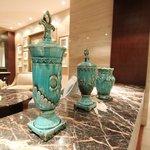 Decorative vases @ Piano Lounge