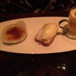 trio of lemon desserts