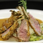 Rosemary Crusted Rack of Lamb