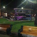 Plaza de armas de Tomé