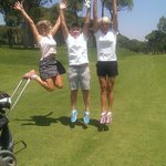 Fun at the course