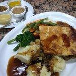 Steak Guinness & Mushroom Pie