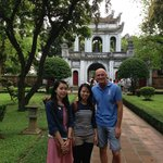 At the Temple of Literature