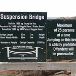 Everything you wanted to know about the suspension bridge!