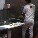 making shawerma