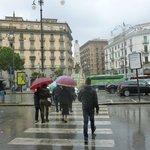 Wet arrival Salerno