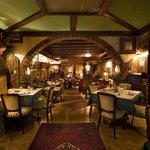 Restaurant with national,italian and latino cuisine, with very warm and cosy enterior.