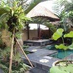 Villa 1 pool & bale