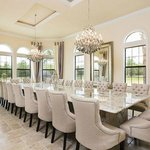 My Private 24 seat dining table, perfect for family get togethers
