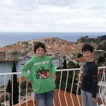 View over Dubrovnik from the appartment's terrace