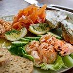Sample restaurant dish