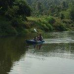 The Pvt Lake & kids kayaking