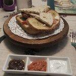 餐廳的蒜茸包,精緻美味!