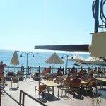 Пляж отеля Aventura park