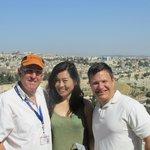 Moti and us at Masada