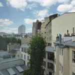 ホテルからの眺望(モンパルナス方面)