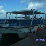 Un barco pequenyo para grupos reducidos (los hay grandes)