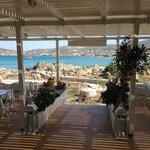 Beautifull view from Kolimpithres Tavern!