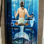 One of the many painted doors in old Funchal