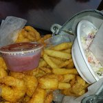 fried fish bucket