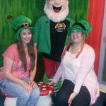 Our favourite holiday photo...at The Leprechaun Museum xx
