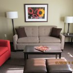 King Suite/Sitting area/pull out double sofa bed