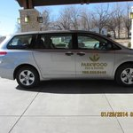 Complimentary Shuttle Van Service to airport and MHK vicinity