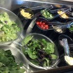 Soup & Salad bar daily