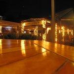 屋上のレストラン