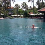 Anantara rooms and pool area
