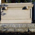 "1909 Cornerstone of ""The Arches"""