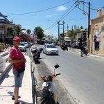 Platanias Main Street