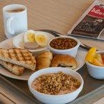 Petit-déjeuner inclus