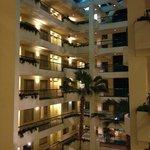 Atrium view from 4th floor