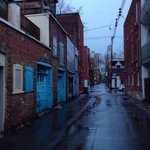 Rainy day on the Plateau (typical Plateau alley)