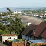 View of Minehead from Marston Hotel 1st floor