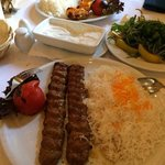 our food in Saray restaurant, Berlin