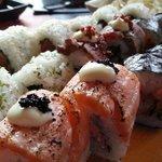 Sushi voorbeeld van Kiyoshi