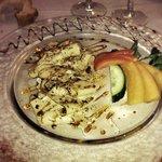 Carpaccio. De foie gras et noisette ! Exceptionnel !!!