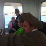 Captain sideburns pirate ship